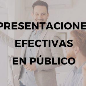 formación para hacer presentaciones efectivas